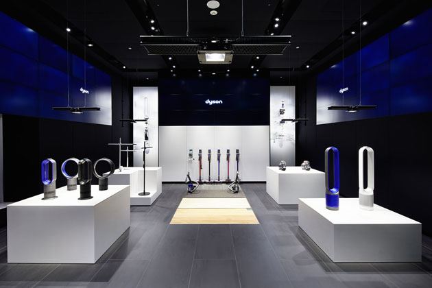 dyson demo flagship omotesando projects tanseisha co ltd. Black Bedroom Furniture Sets. Home Design Ideas