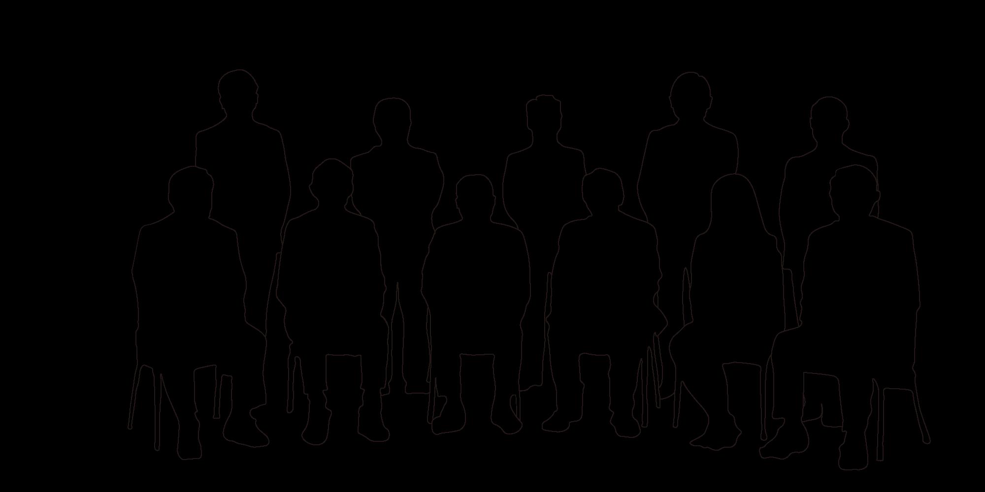 写真と人物の対応図