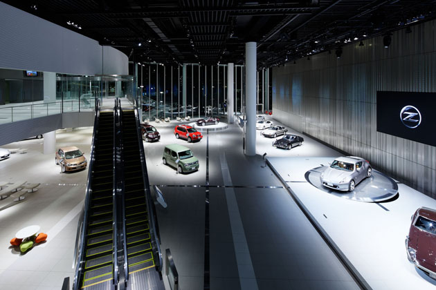 Nissan Global Headquarters Gallery Projects Tanseisha