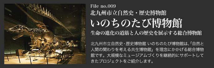 北九州市立自然史・歴史博物館 いのちのたび博物館